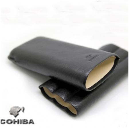 Bao da đựng Cigar (xì gà) chính hãng Cohiba loại 3 điếu - Mã SP: BLP313
