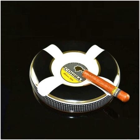Gạt tàn Cigar (xì gà) Cohiba chất liệu gốm sứ - Mã SP: BLP810 - 3A1