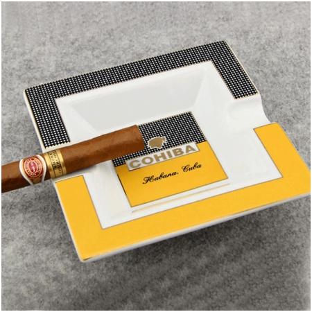 Gạt tàn Cigar (xì gà) Cohiba màu cam chính hãng - Mã SP: P5603A