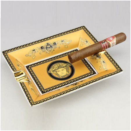 Gạt tàn Cigar Fan Sizhe màu vàng chính hãng - Mã SP: AS900