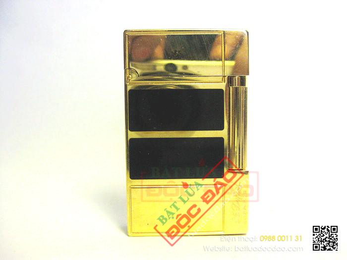Bật lửa S.T.Dupont sơn mài đen hai khúc - Mã SP: BLD111