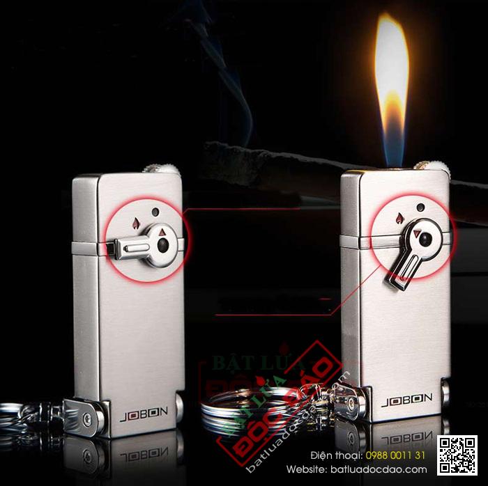 Bật lửa jobon móc chìa khóa gạt ngang - Mã SP: BLZB018
