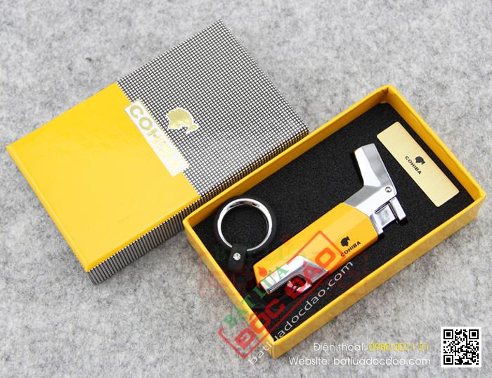 Bật lửa hút Cigar Cohiba chính hãng loại 1 tia lửa - Mã SP: BLH023
