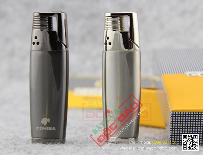 Bật lửa khò hút Cigar cohiba chính hãng loại 1 tia lửa - Mã SP: BLH057