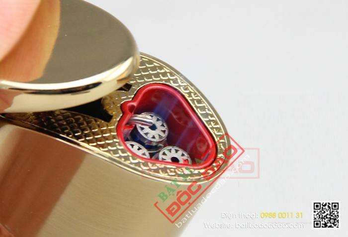 Bật lửa hút Cigar Cohiba loại 3 tia lửa cực mạnh, có lỗ kính kiểm tra gas - Mã SP: BLH086
