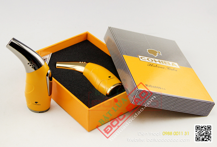Bat lua hut xi ga Cohiba H106 chinh hang