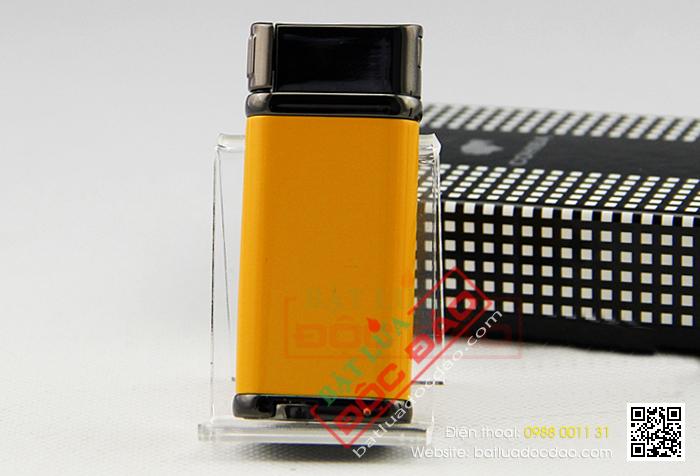 Bật lửa hút Cigar Cohiba chính hãng loại 1 tia lửa có thiết bị đục Xì gà - Mã SP: BLH097
