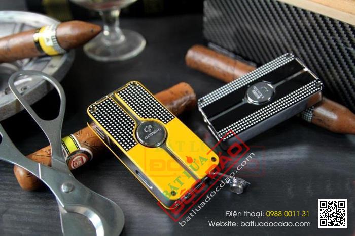 Mua quà gì biếu sếp: Bật lửa Cohiba cao cấp COB58 1445997739-bat-lua-hut-cigar-chinh-hang-cohiba-cob-58-12