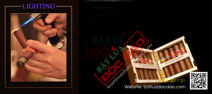 Bat lua hut xi ga chinh hang Cohiba H103 gia re