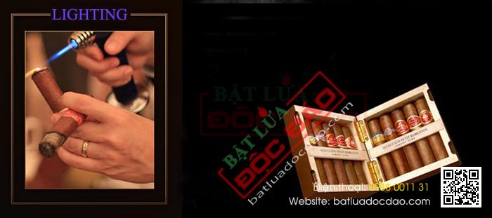 Mua bat lua Cigar hop quet Cigar Cohiba o dau
