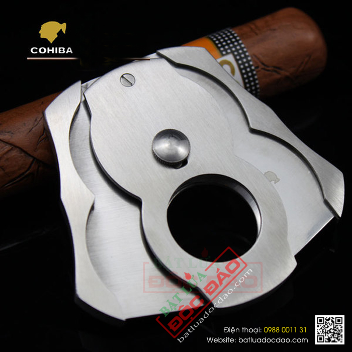 Dao cat xi ga Cigar Cohiba C824B qua tang sep