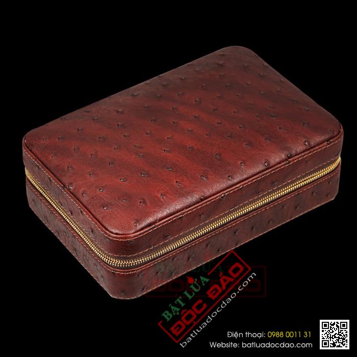 Set hộp đựng cigar, dao cắt cigar, bật lửa hút cigar  chính hãng Cohiba  - Mã SP: BLH519