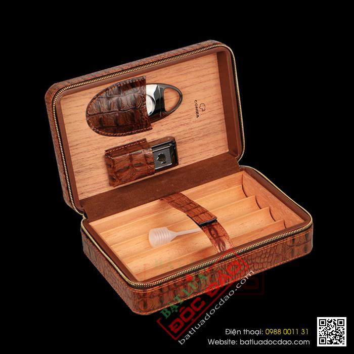 Hop dung cigar dao cat cigar bat lua kho cigar Cohiba H519