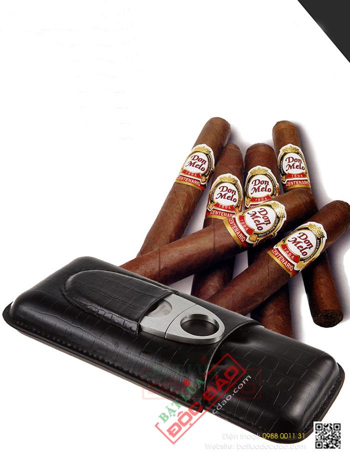 Ban bao da cigar dao cat cigar cohiba cao cap