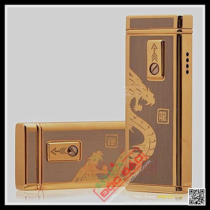 Bật lửa cảm ứng Promise khắc hình rồng - Mã SP: BLP016A