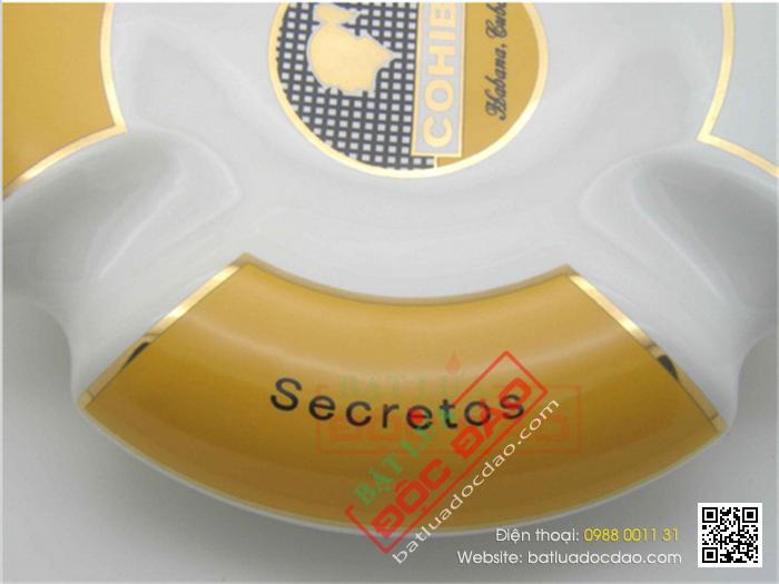 Gạt tàn Cigar Cohiba chất liệu gốm sứ xịn - Mã SP: BLP830-3A