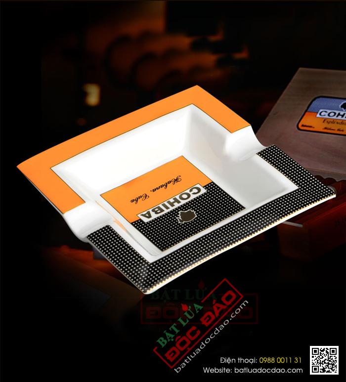 Mẫu gạt tàn xì gà Cohiba gốm sứ loại 2 điếu P5603A bán chạy nhất 1451448500-gat-tan-cigar-cohiba-gat-tan-xi-ga-cohiba-p5603a-7