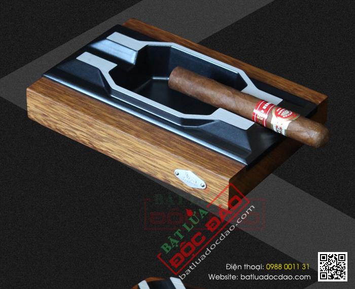 Quà tặng sếp, quà tặng cao cấp (gạt tàn xì gà 2 điếu chính hãng Cohiba B070) 1451449554-gat-tan-cigar-cohiba-gat-tan-xi-ga-lubinski-lb070-1