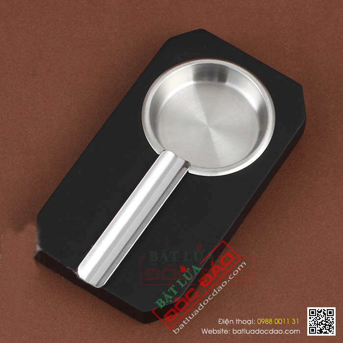 Gạt tàn Cigar Cohiba chất liệu gỗ, kim loại cao cấp - Mã SP: FY1140