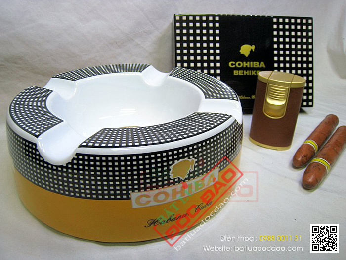 Shop ban gat tan xi ga Cigar Cohiba P910 3A chinh hang tai Ha Noi