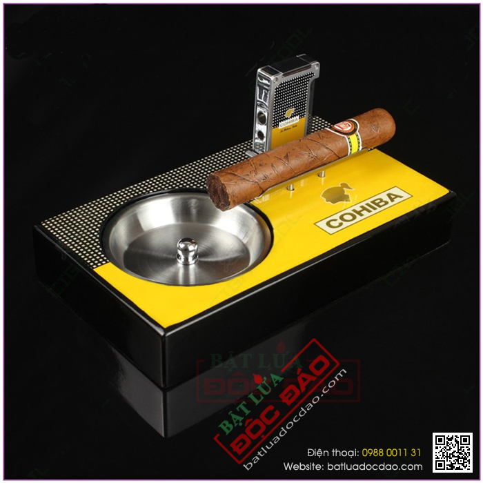 Dia chi ban gat tan Cigar Cohiba G107 chinh hang uy tin
