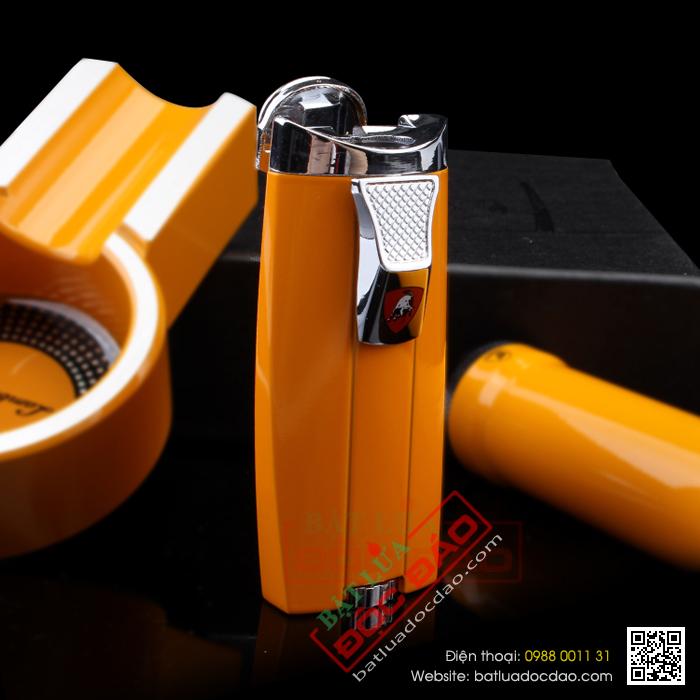 Set gạt tàn xì gà, ống đựng xì gà, bật lửa xì gà Cohiba T303