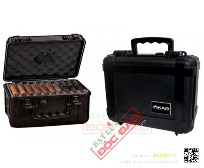 Hộp bảo quản Cigar, tủ bảo quản Cigar cao cấp Cohiba, Xikar