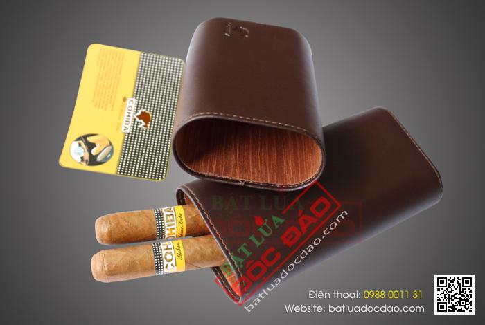 Bao da xì gà, hộp đựng xì gà chính hãng (phụ kiện xì gà) 1
