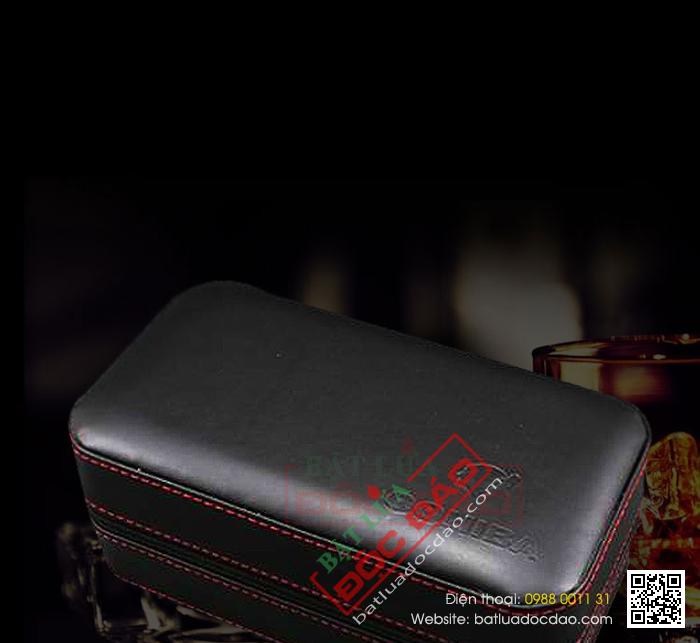 Hộp đựng Cigar Cohiba loại 6 điếu màu đen chính hãng - Mã SP: 021