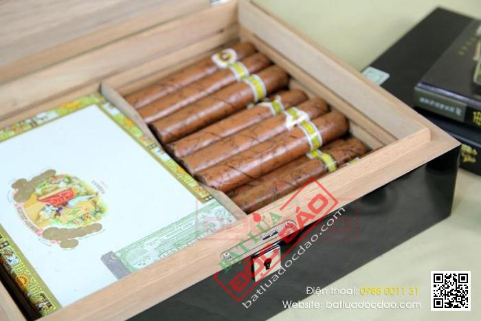 Hop giu am xi ga Cigar Cohiba BYD003 mua o dau