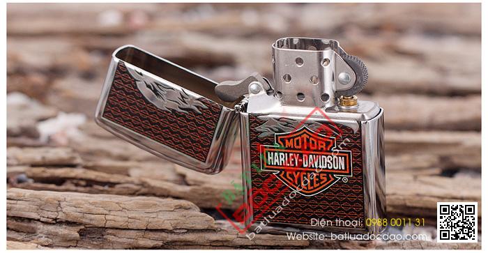 Bật lửa Zippo Mỹ in Logo Harley Davidson - Mã SP: Z007
