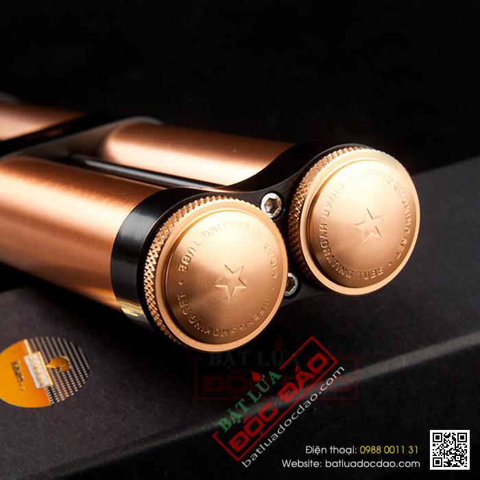 Ống đựng Cigar Cohiba chính hãng loaị ống kép 2 điếu - Mã SP: D005