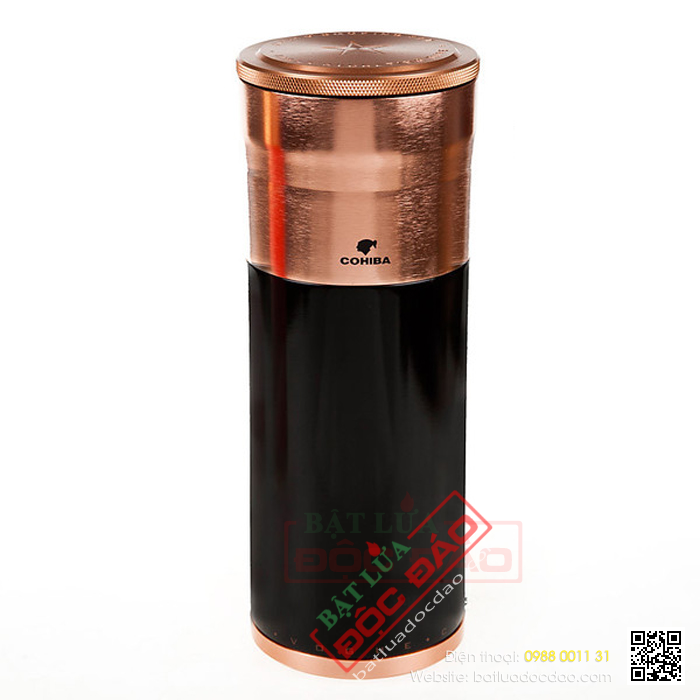 Ống đựng Cigar Cohiba chính hãng màu đen - Mã SP: D006