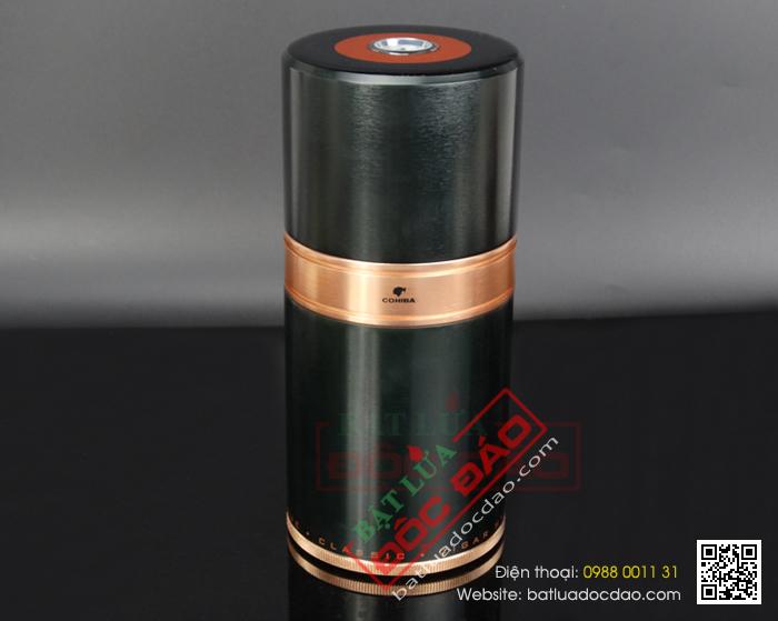 Ống đựng xì gà, ống giữ ẩm xì gà 7 điếu Cohiba cao cấp D009
