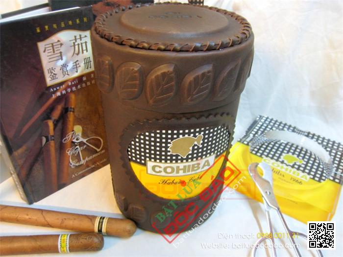 Mua ong dung xi ga Cigar Cohiba chinh hang o dau