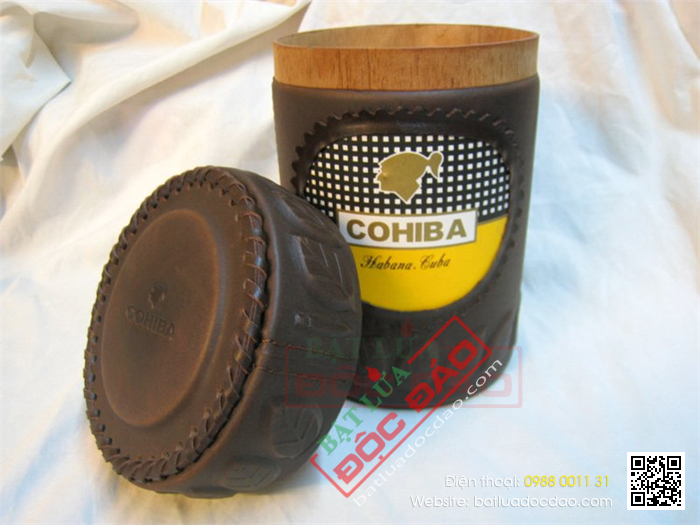Ong dung Cigar Cohiba chinh hang qua tang cao cap