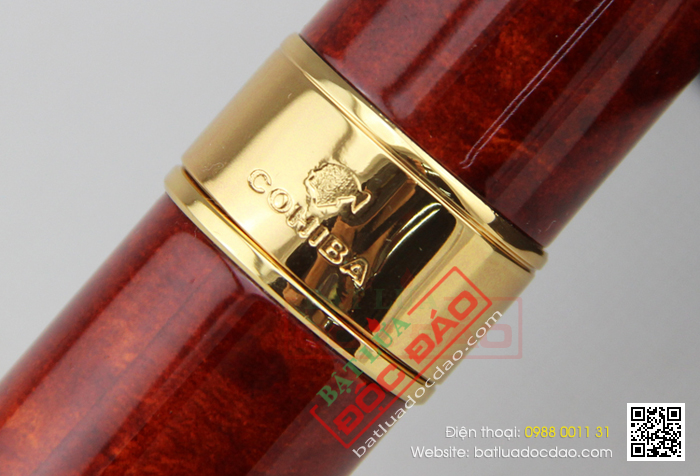 Ong dung xi ga Cigar Cohiba chinh hang hcm