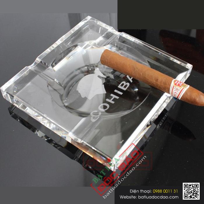 Bán gạt tàn cigar loại 4 điếu Cohiba GT004 chính hãng, giá tốt